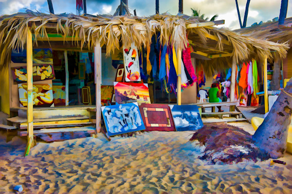 Beach Shops #30 Fine Art Photograph by Robert Lott