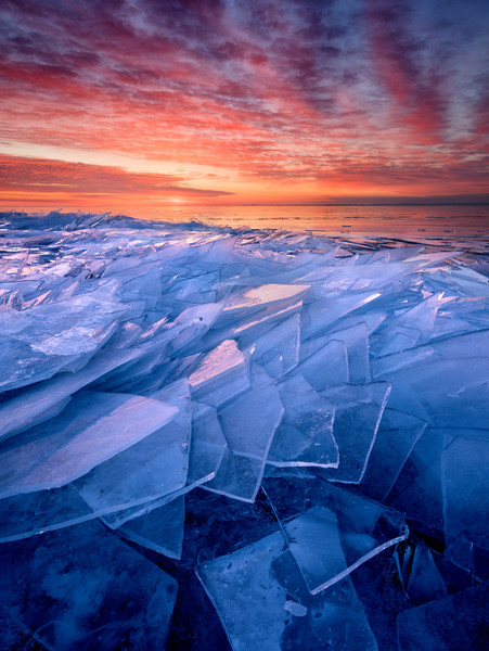 Winter photographs of Minnesota's North Shore along Lake Superior