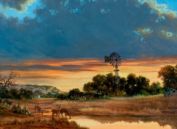 Texas Landscapes Art and Paintings For Sale