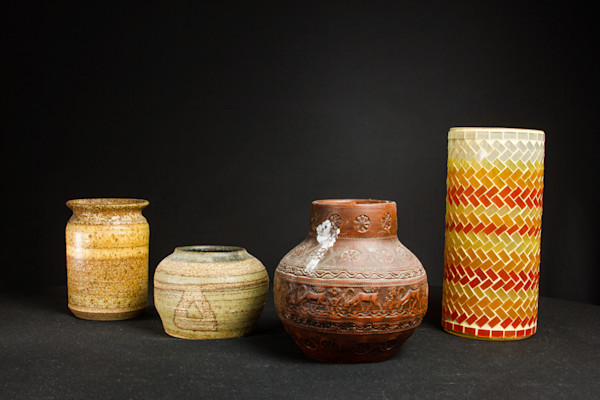 Fine Art Photograph of Exotic Vases by Michael Pucciarelli