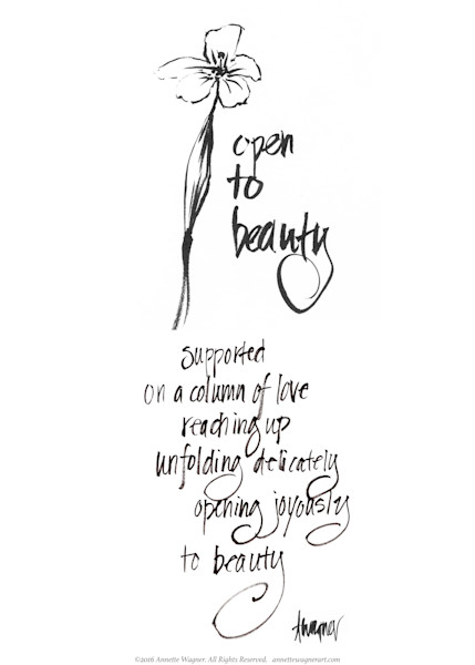 Opening to Beauty