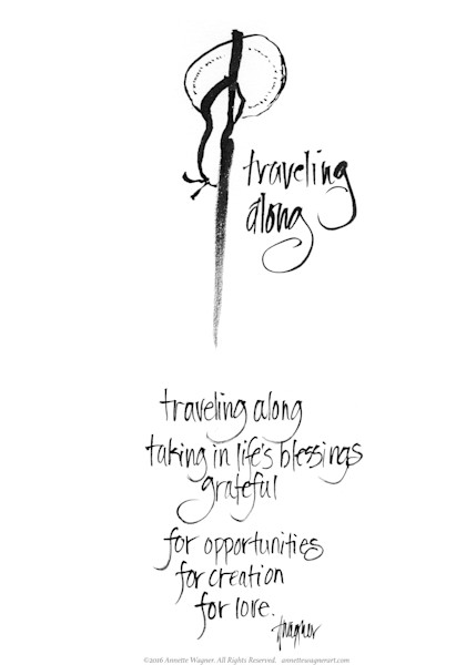 Traveling Along Meditation