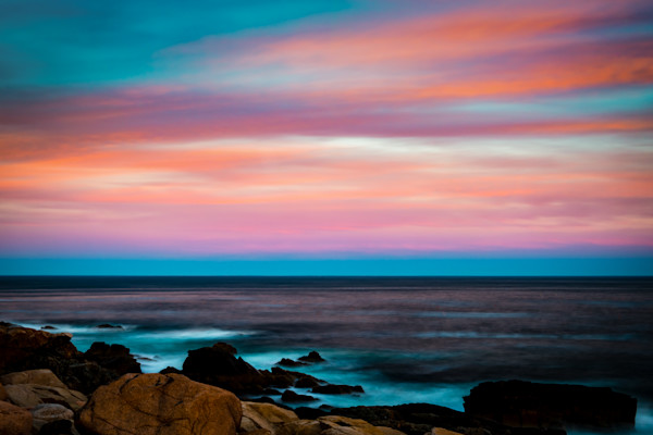 Acadia Shoreline at Sunset Fine Art Photograph | JustBob Images