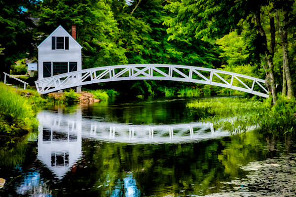 Somerville Bridge #2 Fine Art Photograph | JustBob Images