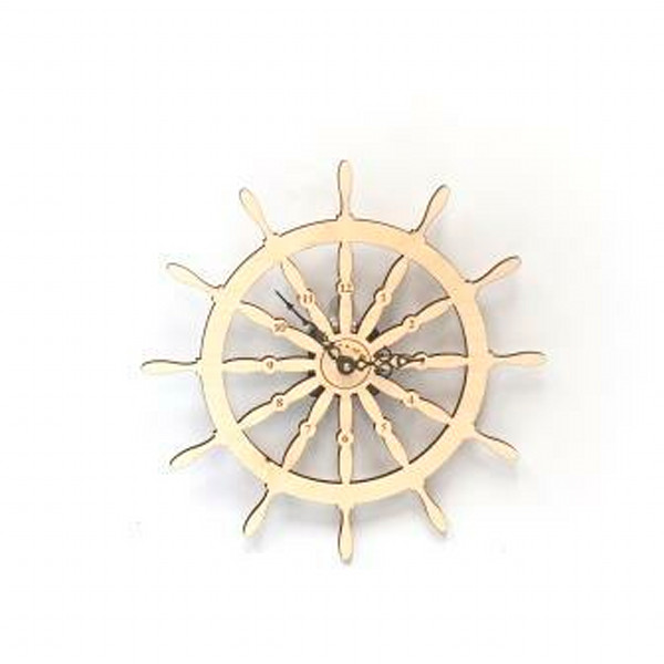 Wheel Wall Clock  |  PicturesPlusPrints