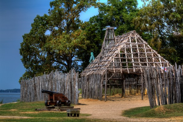 Fine Art Photographs of Jamestown Forts by Michael Pucciarelli