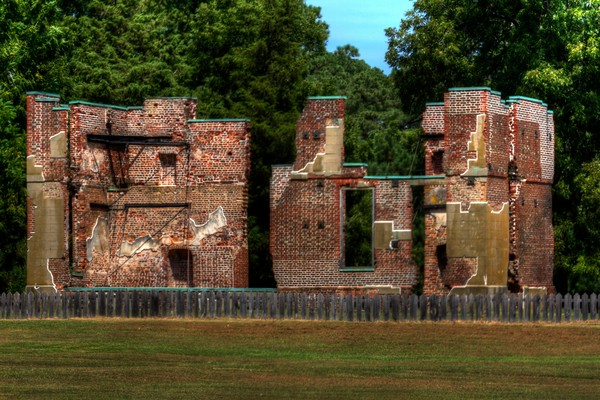 Fine Art Photographs of Jamestown Historic Fort
