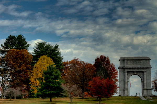 Fine Art Photographs of Valley Forge by Michael Pucciarelli