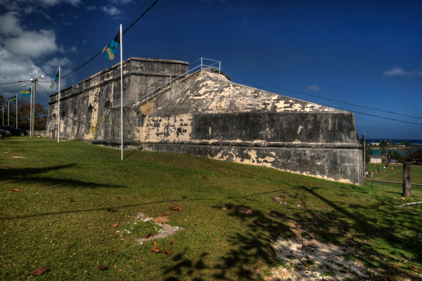 A Fine Art Photograph of Fort Charlotte by Michael Pucciarelli