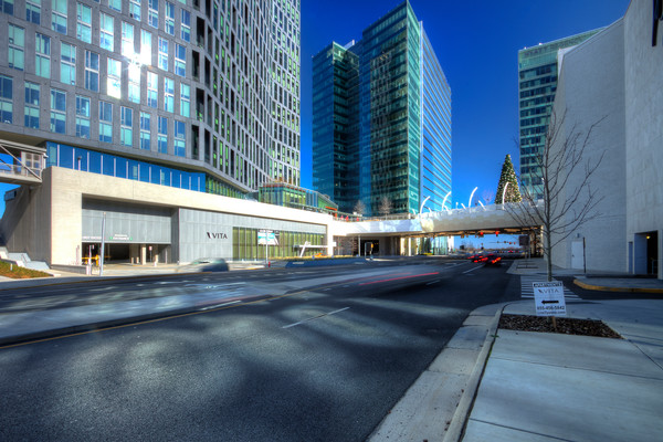 A Fine Art Photograph of Downtown Tyson's Corner by Michael Pucciarelli