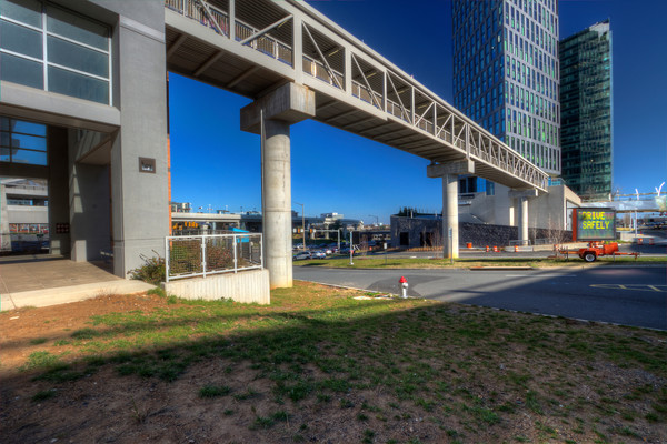 Fine Art Photograph of Silver Line Metro by Michael Pucciarelli