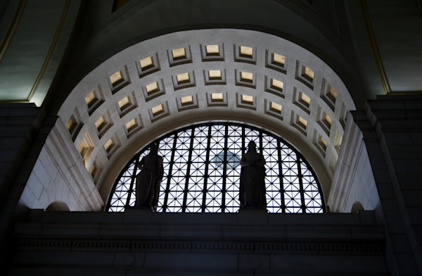 A Fine Art Photograph of Inside Union Station by Michael Pucciarelli