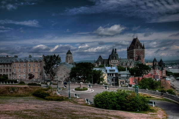 Frontenac Chateau Fine Art Photographs by Michael Pucciarelli