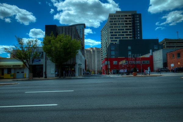A Fine Art Photograph of Sunny Silver Spring by Michael Pucciarelli