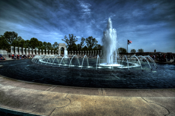 World War II Memorial Fine Art Photograph by Michael Pucciarelli