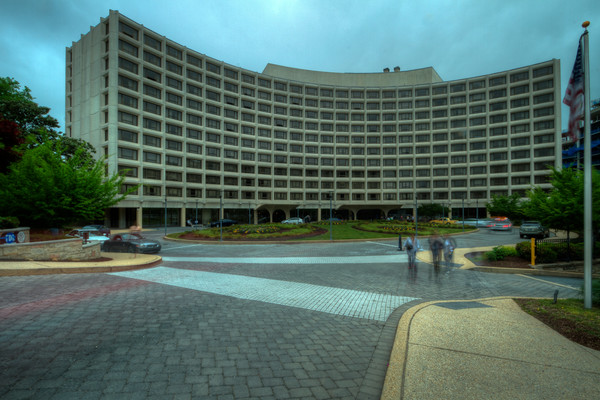 Fine Art Photographs of The Hilton Hotel by Michael Pucciarelli