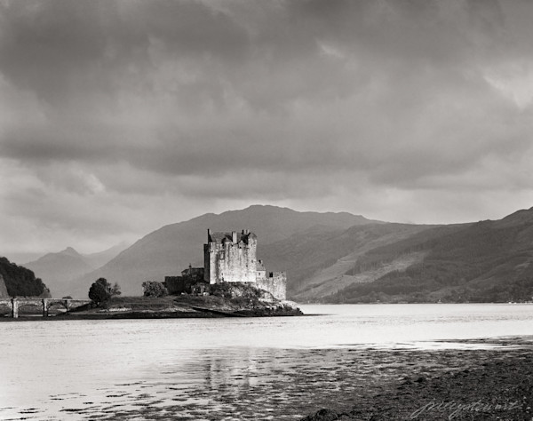 Eilean Donan Castle,  During a Clearing Storm
