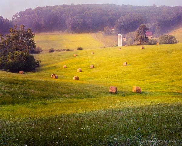 Haying Time in Loudoun County