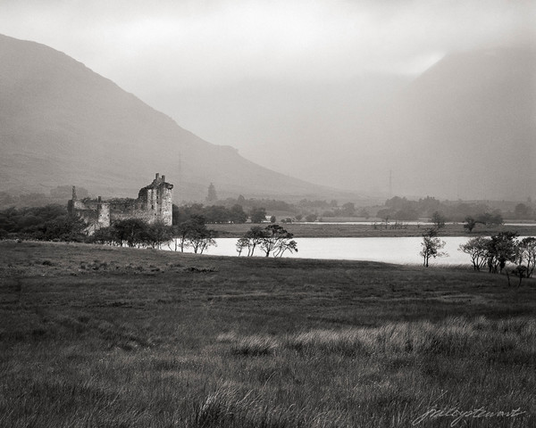 Kilchurn Castle, Rain Storm