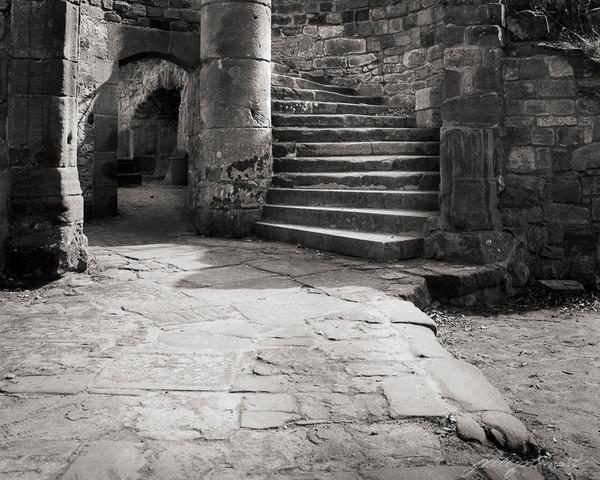 Nanstein Castle, Circular Stairway, 1981