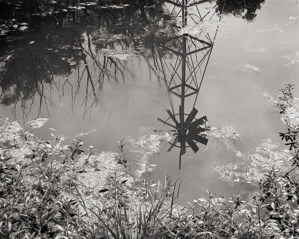 Windmill in the Pond