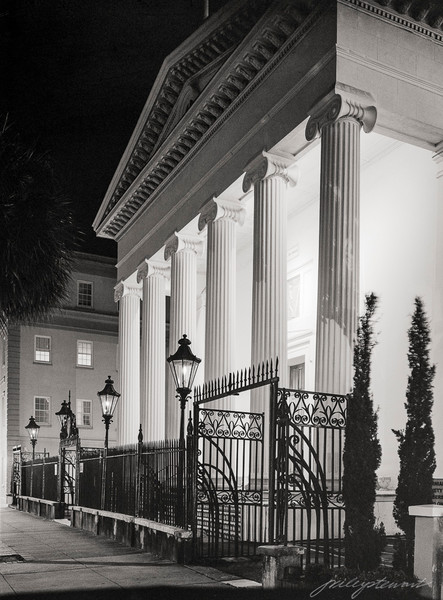 Hibernian Hall at Night, Charleston