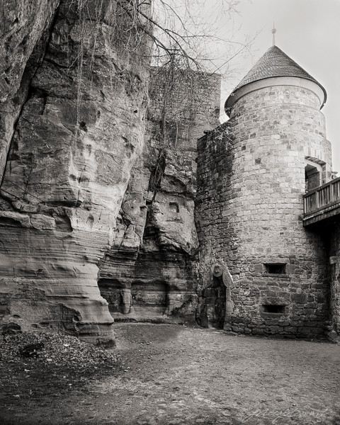 Nanstein Castle, Defensive Entry