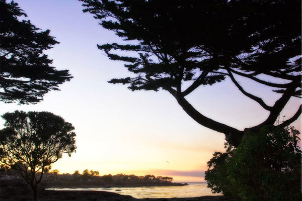 Sunset on Pacific Grove
