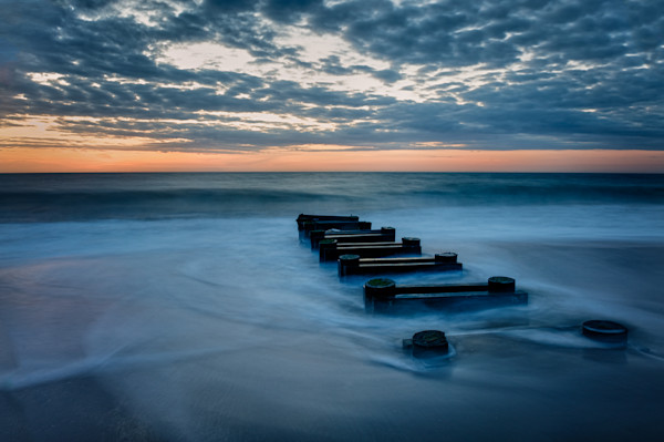Outfall at Sunrise Fine Art Photograph for Sale as Fine Art