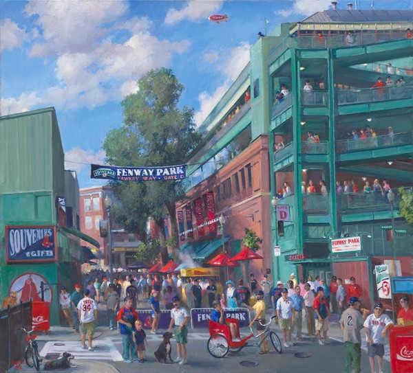Game Day 100th Anniversary Fenway Park