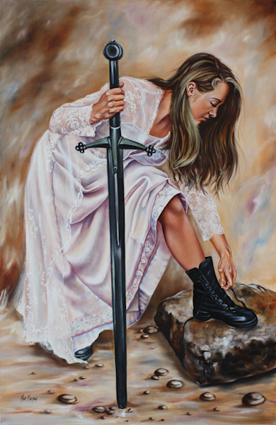 Original Oil painting by Ilse Maria Kleyn at Prophetics Gallery