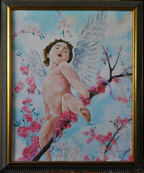 Original Oil Painting by Camille Barnes at Prophetics Gallery