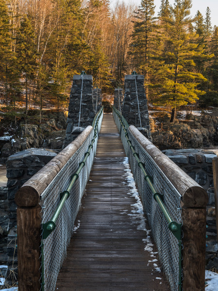 Jay Cooke Swinging Bridge