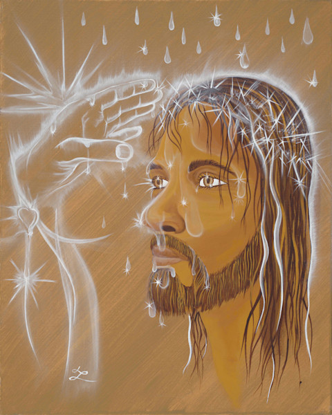 Original Acrylic Painting by John W. Lewis at Prophetics Gallery