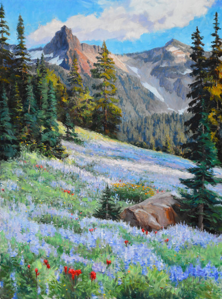 Mountain wildflowers Eric Wallis