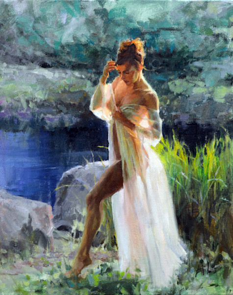 Figure painting Eric Wallis