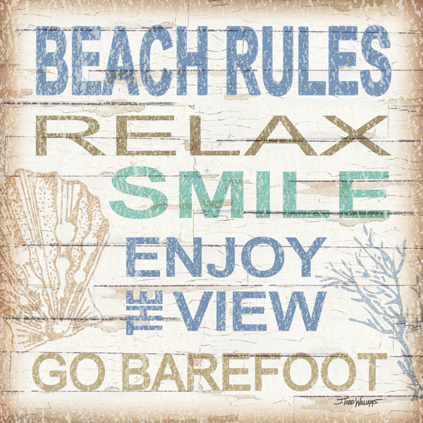 Beach Rules Square