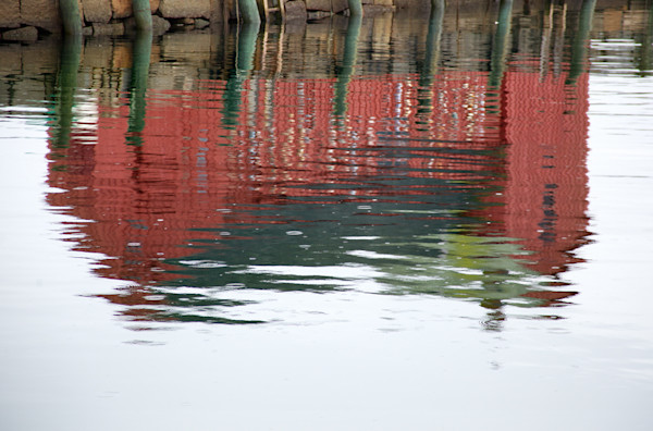 Motif 1, Rain, Rockport Harbor, New England Views