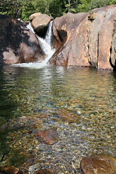 Maine Waterfall, Emerald Pool