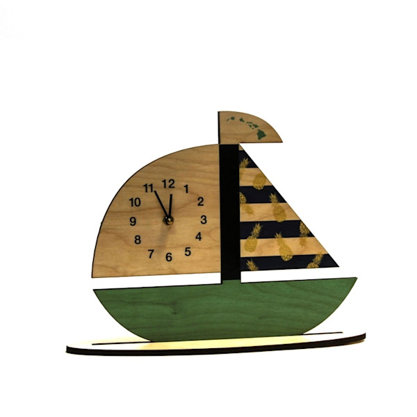 Sailboat Clock  |  PicturesPlusPrints