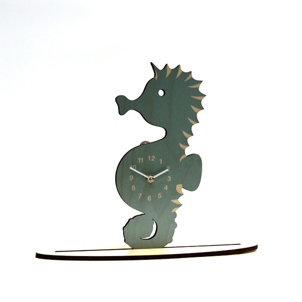 Seahorse Clock  |  PicturesPlusPrints