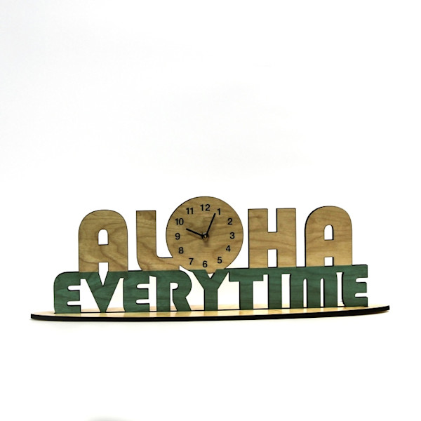 Aloha Everytime Clock  |  PicturesPlusPrints