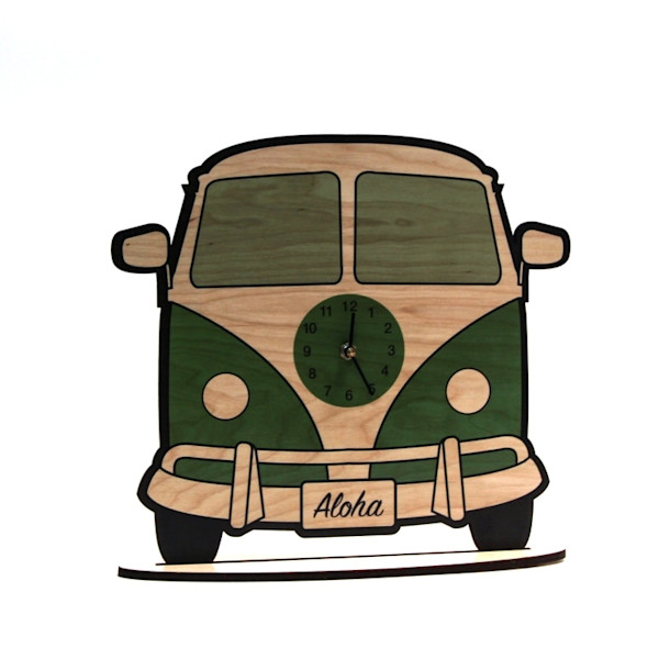 Aloha Bus Clock  |  PicturesPlusPrints
