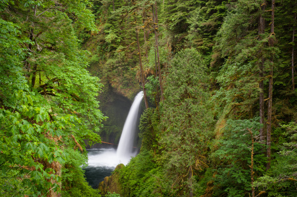 Metlako Falls, waterfall, Oregon, pristine,