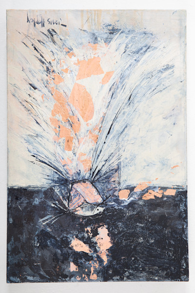 Mixed Media Painting by Janis Ann Hopley at Prophetics Gallery