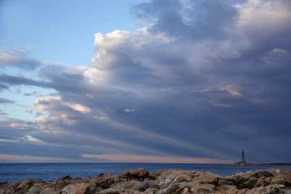 Lighthouse, Magnetic Storm Sunset, Thacher Island 2
