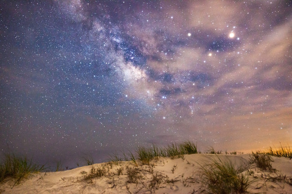 Sand Dunes and Midnight Stars