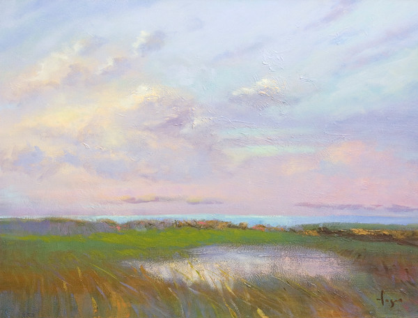 Beautiful Sunrise Paintings by Dorothy Fagan