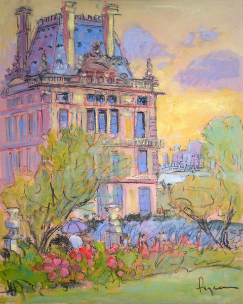 Jardin des Tuileries | French Garden Painting