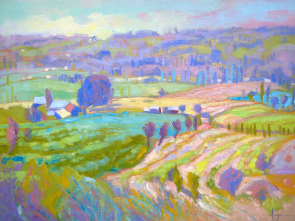 Valle de Liberte | French Plein Air Landscape Painting
